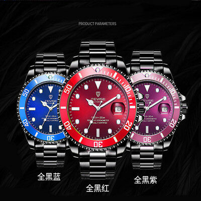 6753846368c TEVISE Stainless Steel Automatic Mechanical Watches Luminous Men Army Watch