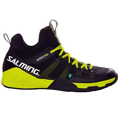 Salming Mens Kobra Squash Indoor Court Mid Top Training Shoes Trainers - 11.5