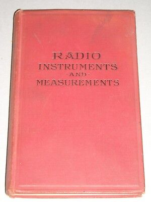 Radio instruments and measurements-New York-Wireless Press-1920