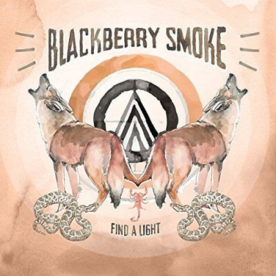 BLACKBERRY SMOKE 'FIND A LIGHT' CD (6th April 2018)