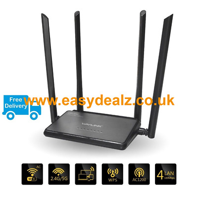 Wavlink 1200Mbs wifi repeater/router Dual Band WPS 2.4G/5GHz - REDUCED PRICE!