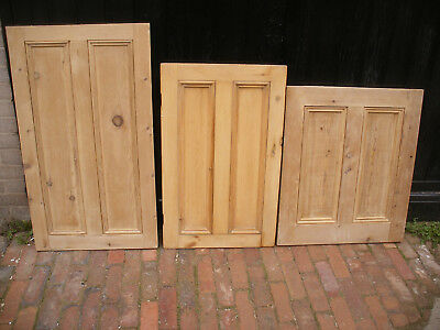 Reclaimed stripped pine cupboard doors / panels