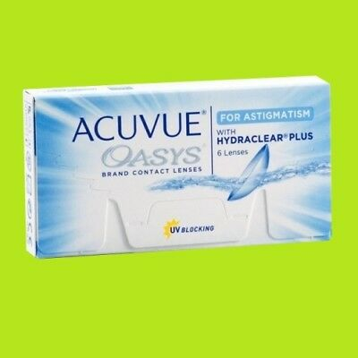 Acuvue Oasys for Astigmatism (1x6pk lenses / BC 8.6)
