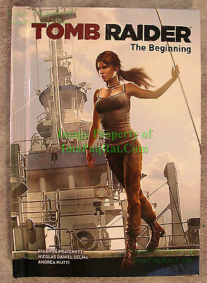 Tomb Raider The Beginning Hardcover Comic Book Best Buy Exclusive NEW UNREAD