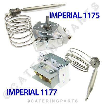 Imperial 1175 1177 Fryer Operating High Limit Control Thermostat Set Ifs40 If 40