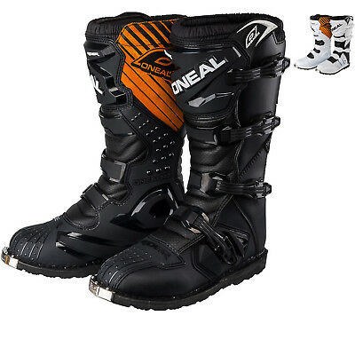New Oneal Rider Boot Motocross Enduro Boots 7 8 9 10 11 12 Black White