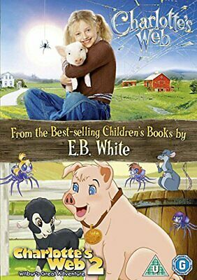 Charlotte's Web: 2-Movie Collection [DVD] - DVD  P5VG The Cheap Fast Free Post