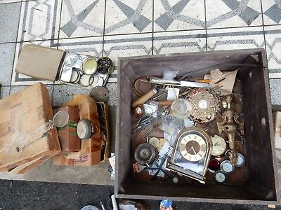 Clock Makers Drawer Full Of Stuff Springs Etc Etc  From House Clearance Today