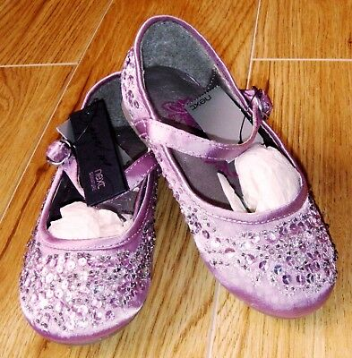 Bnwt Next Girls Mary Jayne Shoes Uk 7 New Party Bridesmaid Pink Lilac Christmas