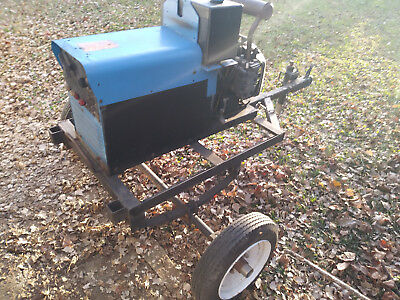 Used Miller 200 Legend Welder and Generator, not working, manual included