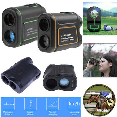 1000m 6/7/8X Telescope Hunting Golf Laser Range Finder Speed Distance Meter