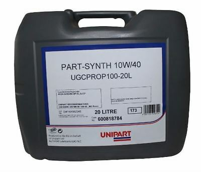 20 LITRES 10W40 Engine Oil SEMI Synthetic 20L (Prop100) MADE BY FUCHS UK PROP100