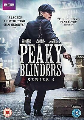 Peaky Blinders Series 4 [DVD] - DVD  TQVG The Cheap Fast Free Post