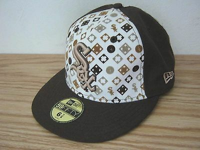 NEW Sox Genuine Merchandise 6 7/8 Fitted Baseball Cap Hat