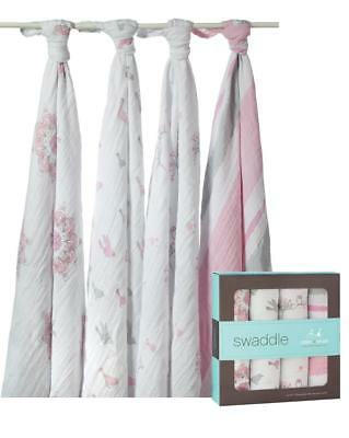 aden + anais Classic Swaddle, 4 Pack (For The Birds) Free Shipping!