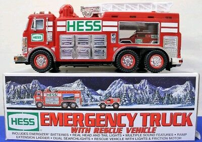 2005 Hess Emergency Truck with Rescue Vehicle!