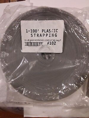 """1"""" wide x 100' of heavy duty commercial strapping"""