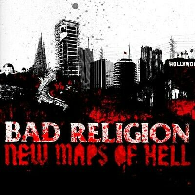FREE US SHIP. on ANY 3+ CDs! USED,MINT CD Bad Religion: New Maps of Hell