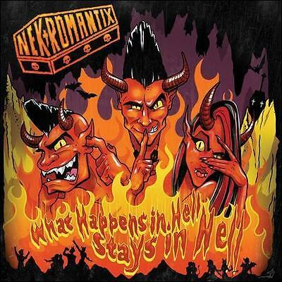 FREE US SHIP. on ANY 3+ CDs! ~LikeNew CD Nekromantix: What Happens in Hell, Stay