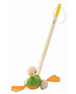 Push Along Wooden Duck - Plan Toys Free Shipping!