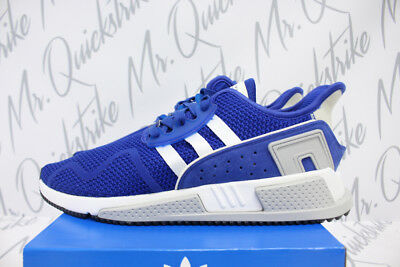 100% authentic 198f1 be7c0 Adidas Originals Eqt Cushion Adv Sz 8.5 Collegiate Royal White Knit Cq2380