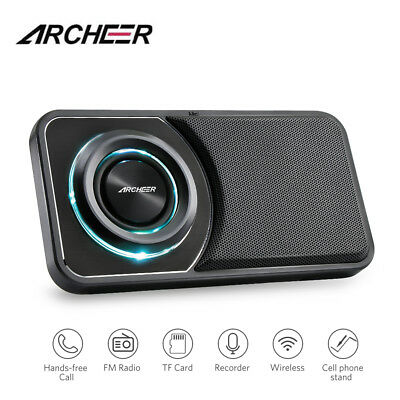 ARCHEER Waterproof Portable Bluetooth Speaker Built-in Mic For Swimming Hiking