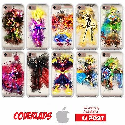 D30 Cover Case Anime Manga Cartoon Game Colourful Paint - Coverlads