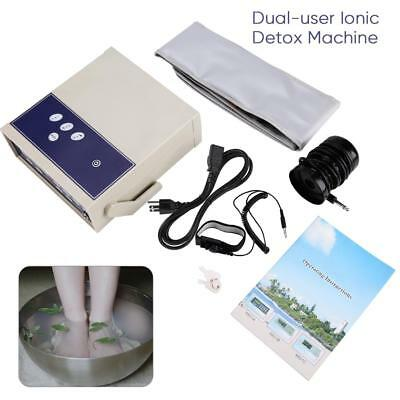 2018 Ion Foot Bath Spa Ionic Detox Machine Cleanse Body Detoxiation Care TP