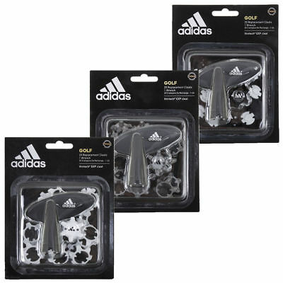Adidas 2018 Golf Thintech® Exp Cleat 20 Pins Pack Golf Shoe Spikes + Free Wrench