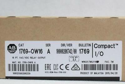 New Factory Sealed Allen Bradley AB 1769-OW16 CompactLogix PLC Output Catalog