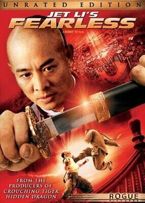 Jet Li's Fearless [DVD] [2006] [Region 1] [US Import] [NTSC] - DVD  0GVG The