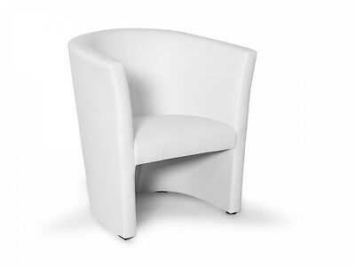 Clubsessel weiß grau  CHARLY CHUCKY COCKTAILSESSEL Sessel Loungesessel Polstersessel 1-er ...