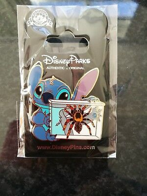 Disney trade pin Stitch spider