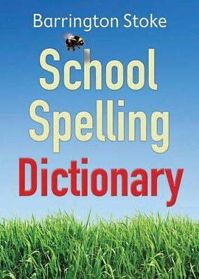 School Spelling Dictionary by Christine Maxwell New Paperback Book