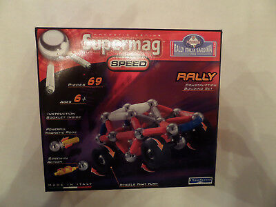 Supermag Speed Rally 69 Teile  Neu & OVP