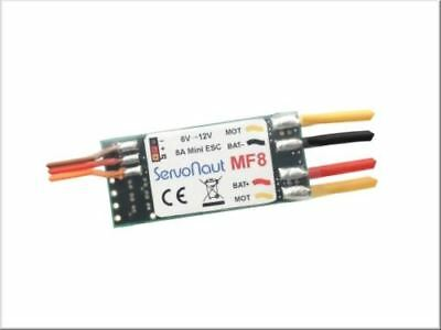 Servonaut MF8 small electronic speed controller up to 8A