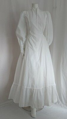 Vintage 1970's Miscellanea Dress Size 8 Made In Smoerset England