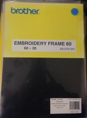 BROTHER Embroidery Frames 130 160 60 Different Models You Choose