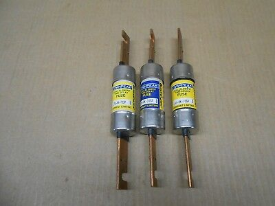 Lot Of 3 New Bussmann Lps-Rk-70Sp Low-Peak Time Delay Fuse 70Amp 600Vac 300Vdc