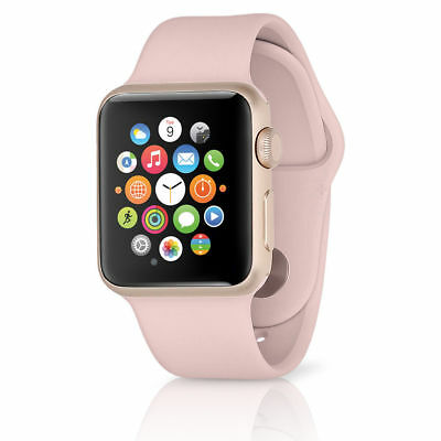 Apple Watch Sport w/ 38mm Rose Gold Aluminum Case & Pink Sand Band MNNH2LL/A