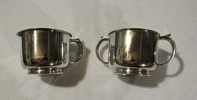 Vintage EPC Silverplate Creamer and Sugar Set by Armor Silver Co-FINAL MARKDOWN!
