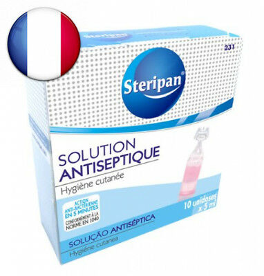 Steripan Solution Antiseptique Unidoses 5 ml x 10