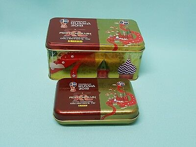 Panini Adrenalyn World Cup Russia 2018 Mini Tin +  Tin Box leer  WM