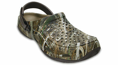 Crocs Mens Swiftwater Deck Realtree Max-5® Clog