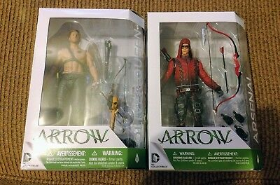 Green Arrow & Arsenal Action Figure Lot DC Collectibles NEW SEALED MIB TV CW!