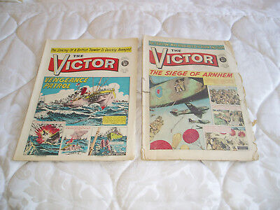 Victor annual/comics x 2 numbers 129 1963 and 258 1966