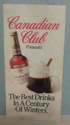 Canadian Club Presents The Best Drinks In A Century of Winters Recipe pamphlet