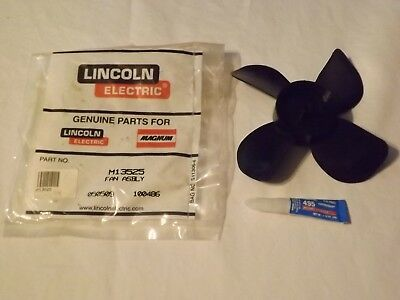Lincoln Electric Welder Fan Blade 225 Ac/dc  M13525   (Box 27)