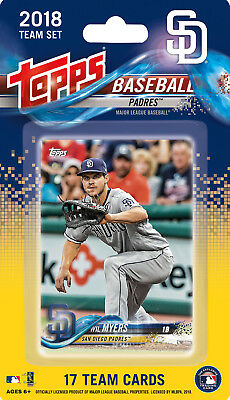 San Diego Padres 2018 Topps Factory Sealed Team Set Wil Myers Spangenberg plus