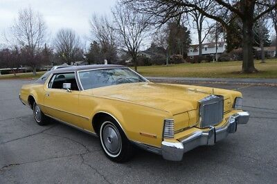 1973 Lincoln Continental Mark IV BEAUTIFUL VERY RARE 72K ACTUAL MILES 1973 LINCOLN MARK IV